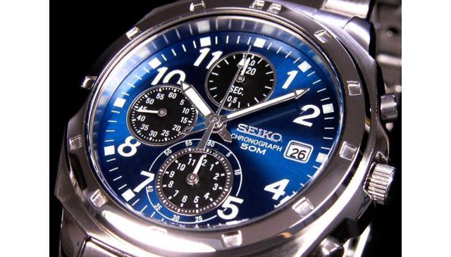 セイコー クロノグラフ腕時計