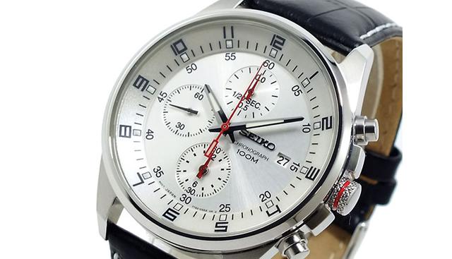 セイコー腕時計 クロノグラフ