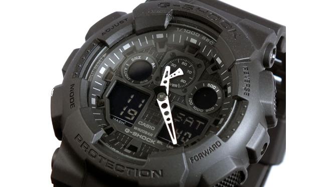 Gショック アナデジ腕時計