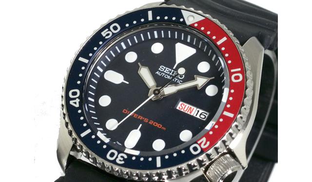 セイコー ダイバーズ腕時計