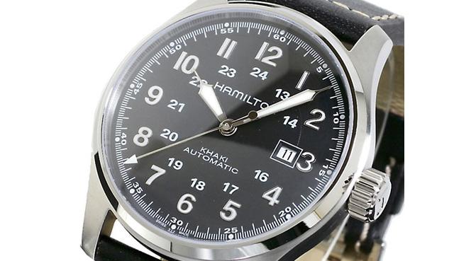 カーキ腕時計