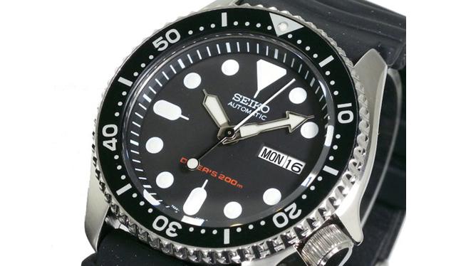 セイコーダイバーズ腕時計