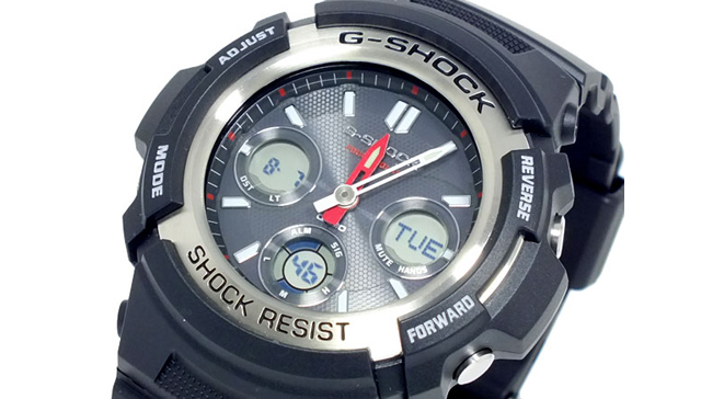 Gショックアナデジ腕時計