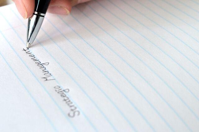 高級ボールペンは書き心地にこだわる!
