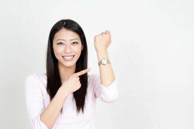 腕時計と腕の間の通気性が大切!