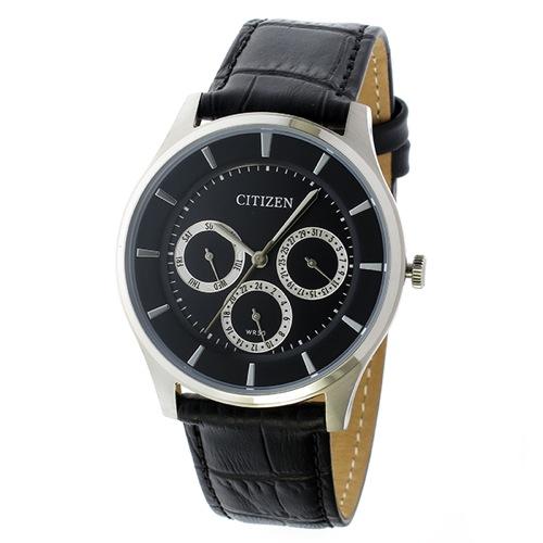 シチズン クオーツ メンズ 腕時計 AG8350-03E ブラック