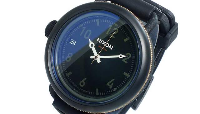 ラバーベルト腕時計