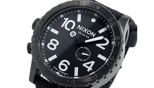 キャンバスベルト腕時計
