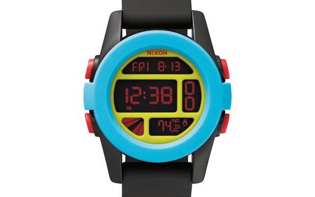 ニクソンラバーベルト腕時計