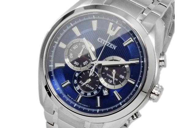 シチズンチタンクロノグラフ腕時計