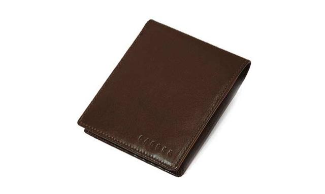 バジェックス二つ折り財布