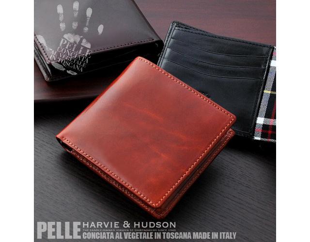 ハ―ビーアンドハドソン二つ折り財布