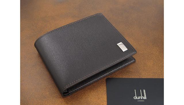 ダンヒル二つ折り財布