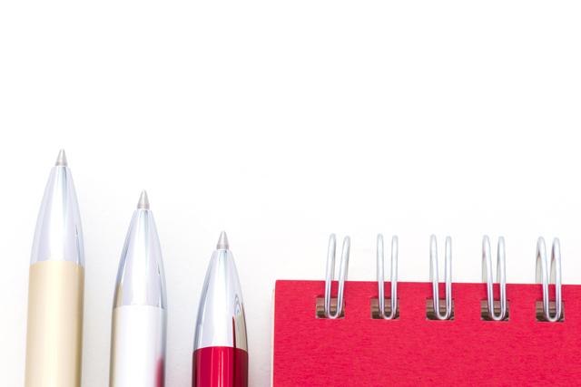 書き味の良いボールペン