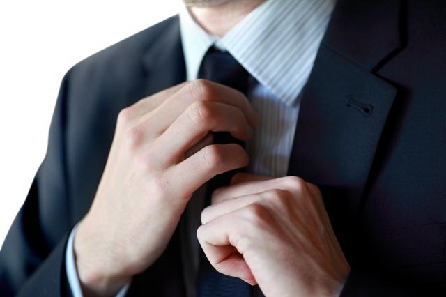 スーツで決める休日デート
