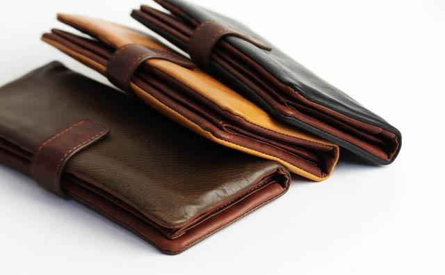 センスの良さをアピールする財布