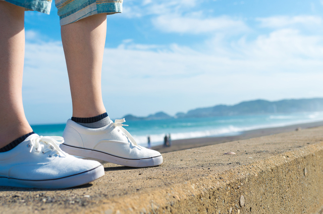 靴にこだわりを