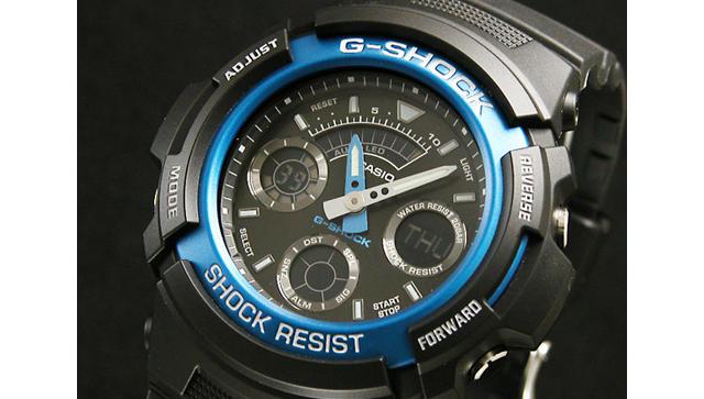 アナデジ腕時計