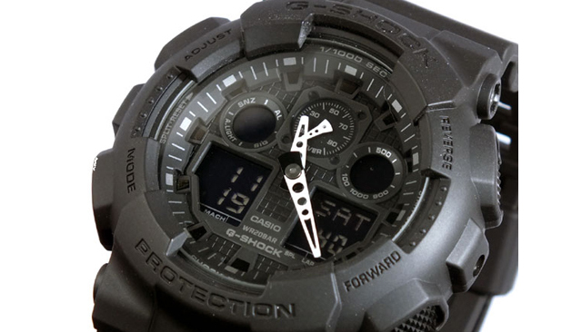 Gショック腕時計GA-100-1A1