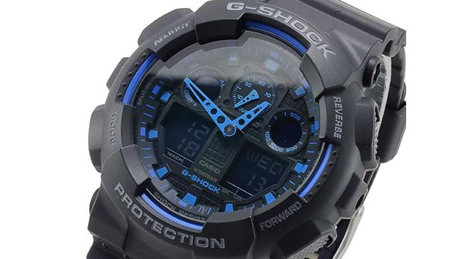 Gショック腕時計GA-100-1A2