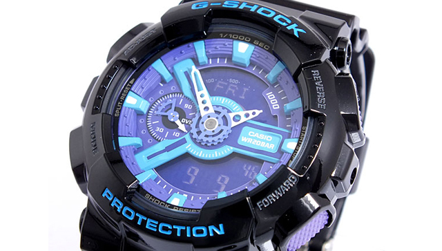 Gショック腕時計GA-110HC-1AJF