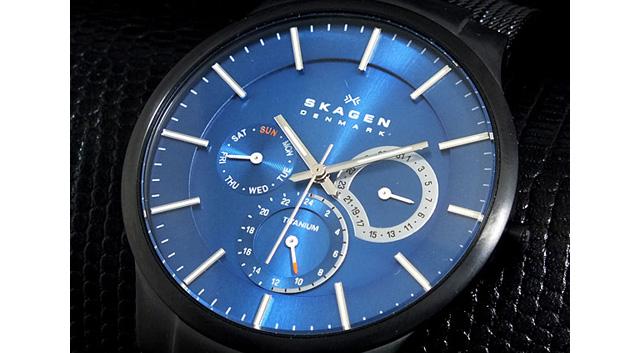 スカーゲン SKAGEN チタン 腕時計 809XLTBN