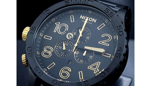 ニクソン51-30クロノグラフ腕時計