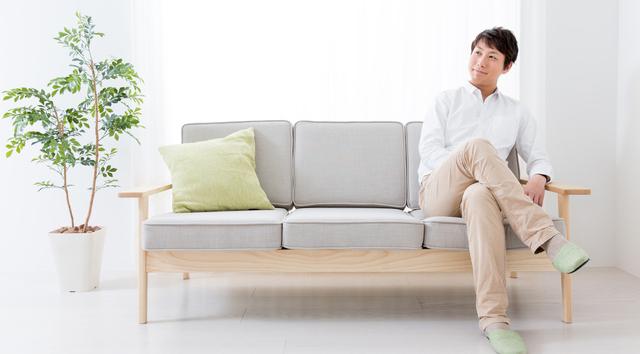 背の高い家具は配置しない