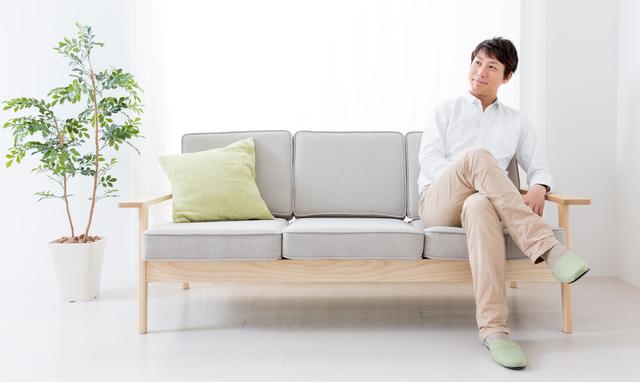 家具は最小限