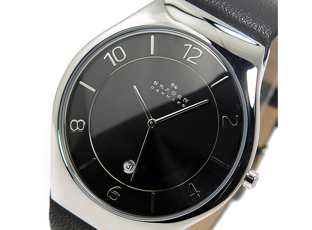 Thin type and fashionable skagen wristwatch rank 10