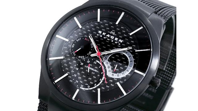 スカーゲン腕時計809XLTBB