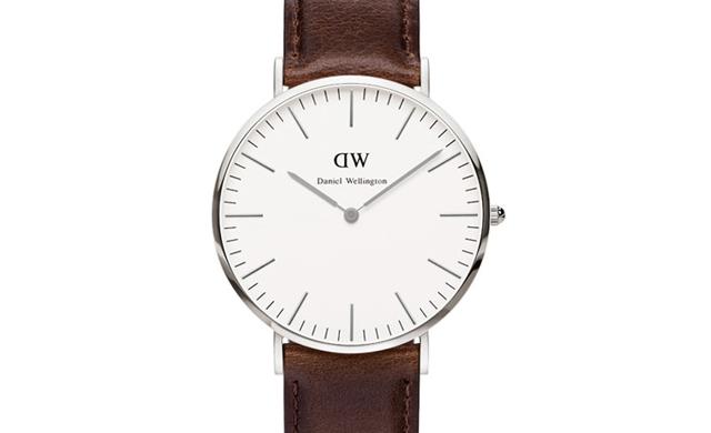 シンプルながら魅力あふれる腕時計
