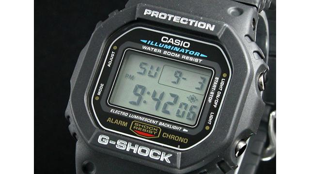 Gショック腕時計DW5600E-1V