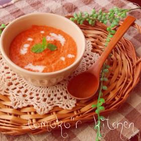 海老のビスク風スープ