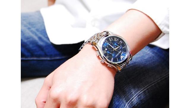 エンポリオアルマーニクロノグラフ腕時計