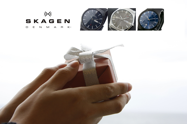 プレゼントに人気なスカーゲン腕時計