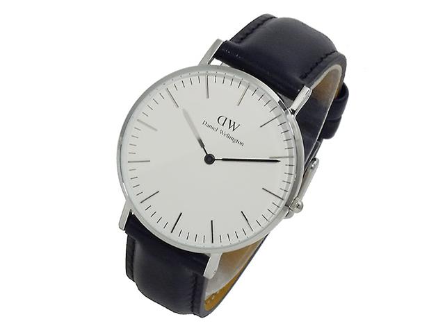 ダニエルウェリントン腕時計白文字盤