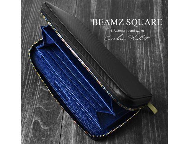 ビームズスクエアラウンドスクエア財布