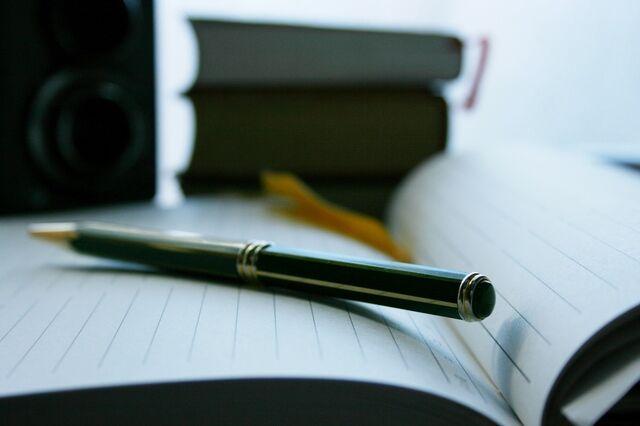 ペリカンボールペンは長さや太さ、バランスも絶妙!