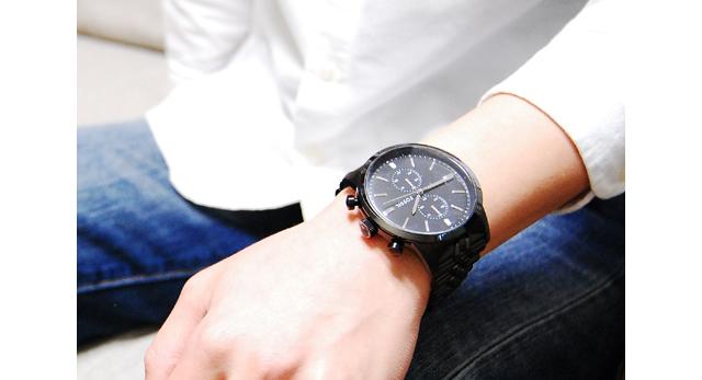 フォッシル腕時計FS4787