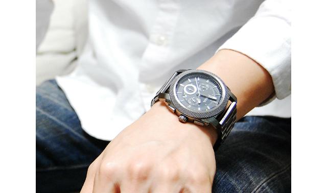 フォッシル腕時計FS4662