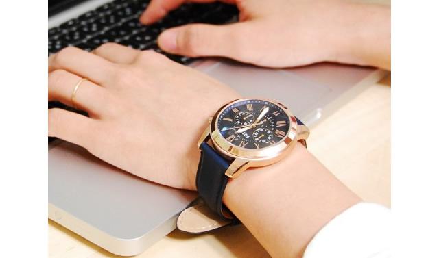 フォッシル腕時計FS4835