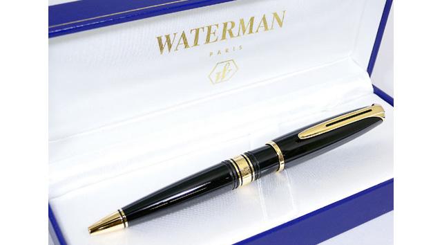 ウォーターマンボールペンの評価