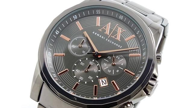 アルマーニエクスチェンジ腕時計が人気