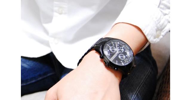 アルマーニエクスチェンジ メタルバンド腕時計がおすすめ