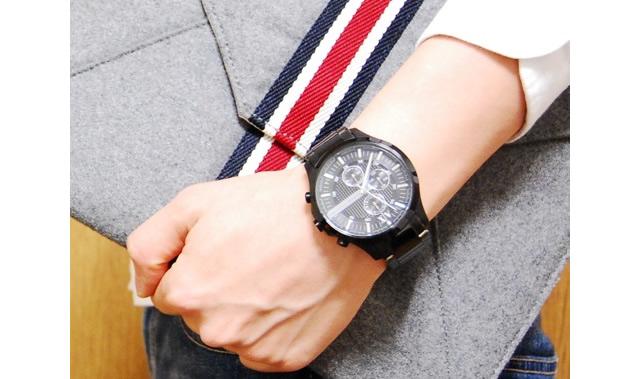 アニマールエクスチェンジメタルバンド腕時計