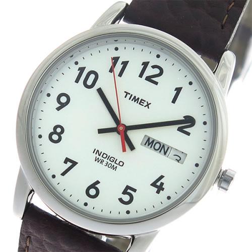 タイメックス イージーリーダー クオーツ ユニセックス 腕時計 T20041 ホワイト/ブラウン
