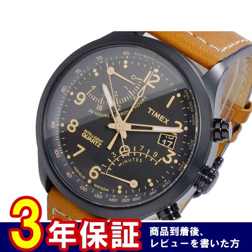 タイメックス TIMEX インテリジェントクオーツ クロノグラフ 腕時計 T2N700 国内正規