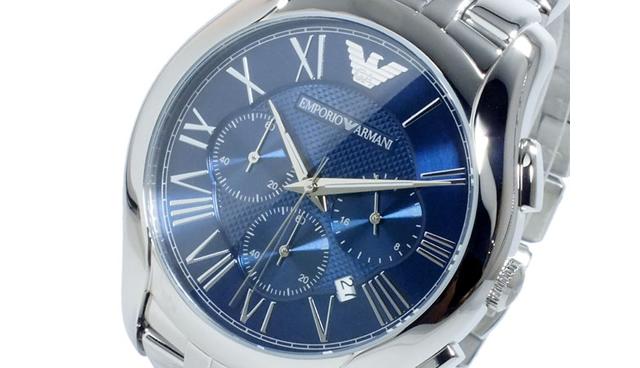 エンポリオアルマーニ クロノグラフ腕時計