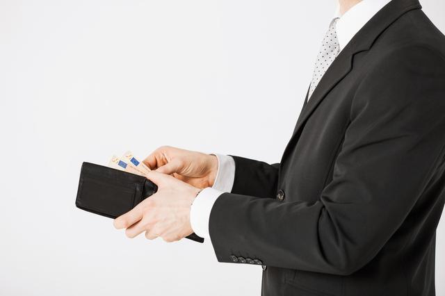 仕事の出来る営業マンにオロビアンコ短財布